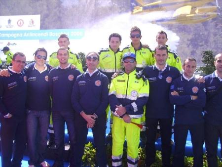 Anno 2008 – Chiusura Campagna AIB Regionale