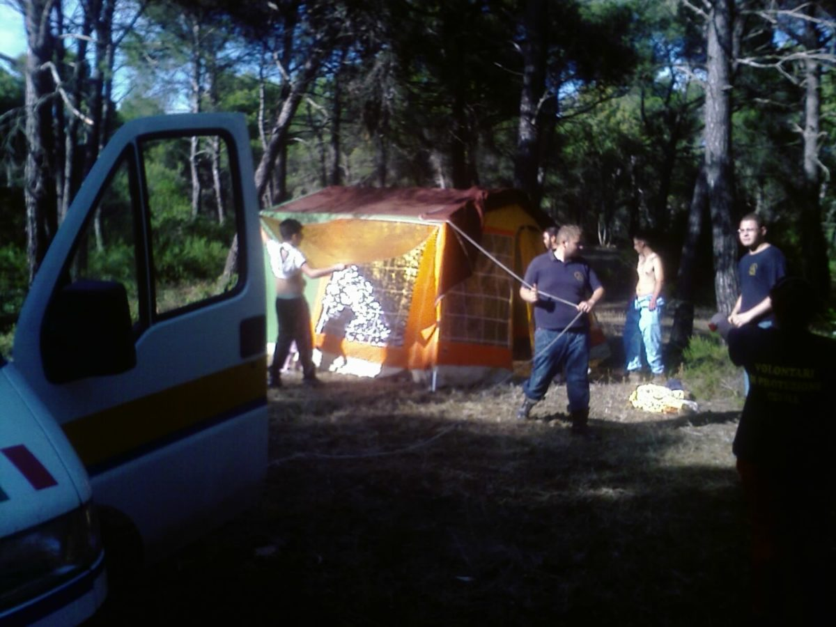 Anno 2009 – Campo Addestramento AIB Idro