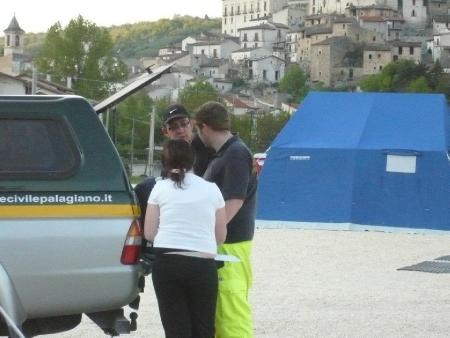 Anno 2009 – Terremoto Abruzzo Campo Castel di Ieri