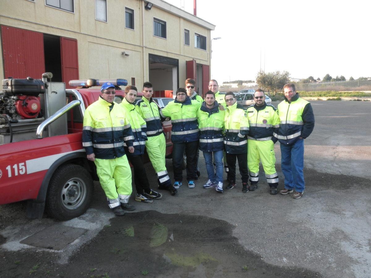 Anno 2011 – Esercitazione Idrogeologica presso VVF Castellaneta
